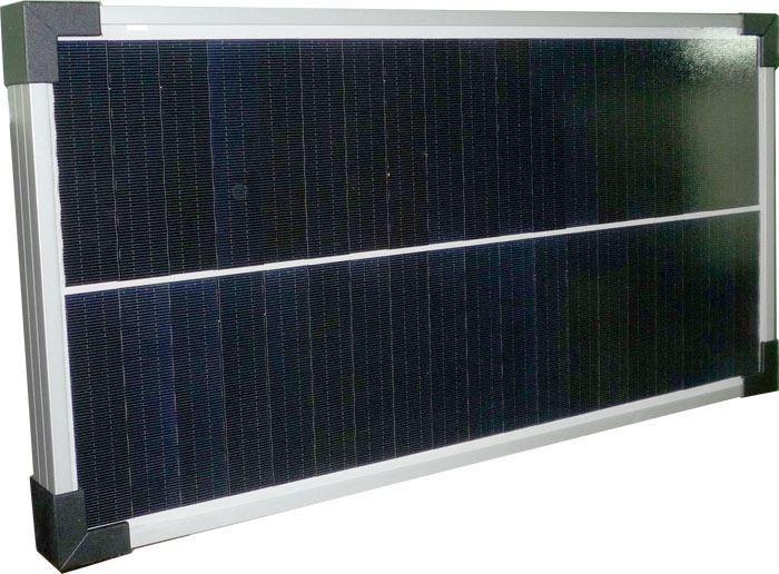 Fotovoltaický solární panel 12V/20W monokrystalický 490x360x25mm