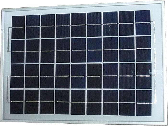 Fotovoltaický solární panel 12V/10W polykrystalický 370x250x18mm