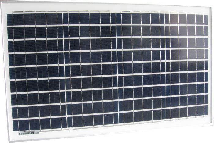 Fotovoltaický solární panel 12V/30W polykrystalický 670x410x25mm