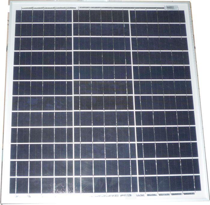 Fotovoltaický solární panel 12V/40W polykrystalický 550x510x25mm
