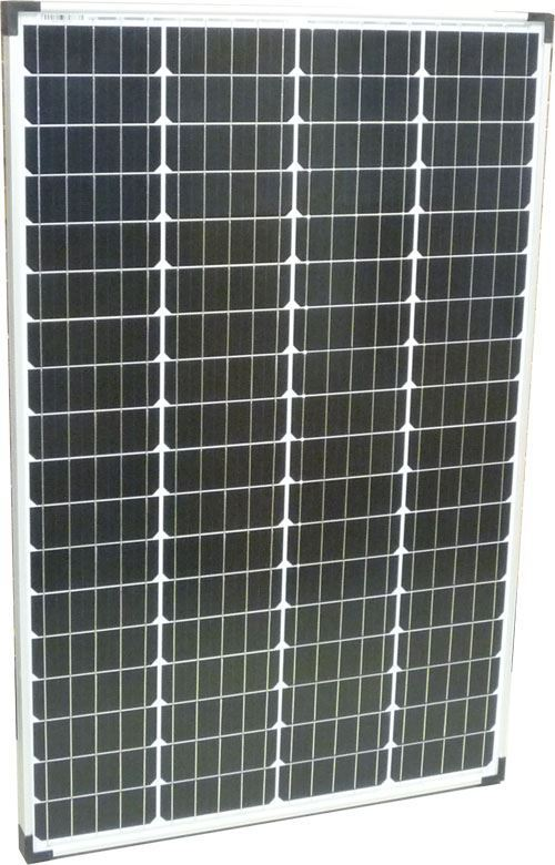 Fotovoltaický solární panel 12V/100W monokrystalický