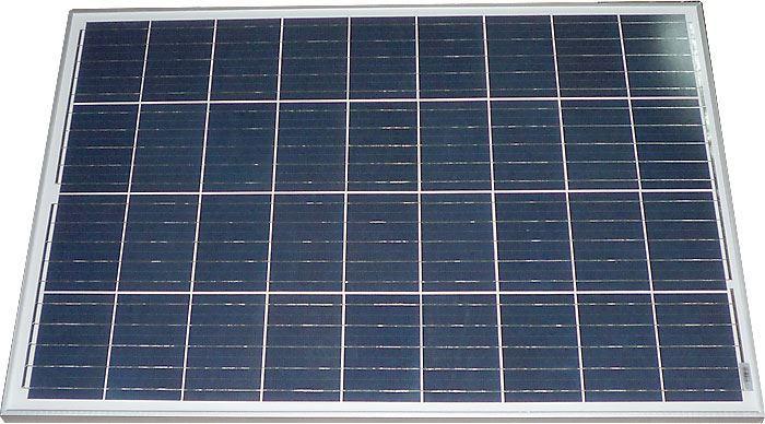 Fotovoltaický solární panel 12V/100W polykrystalický
