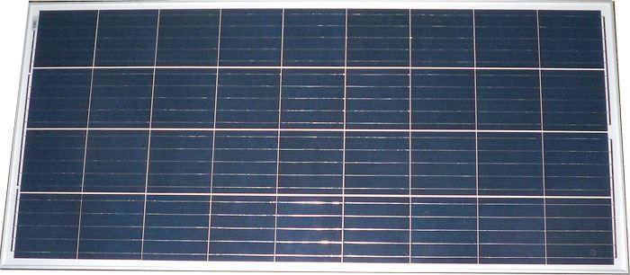 Fotovoltaický solární panel 12V/150W polykrystalický
