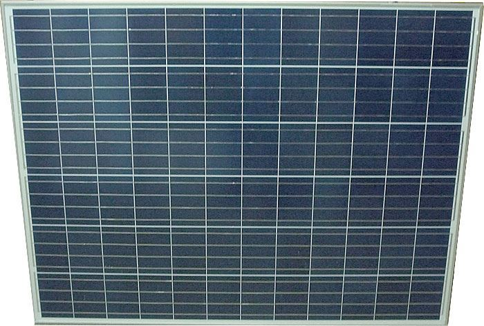 Fotovoltaický solární panel 24V/210W polykrystalický 1350x990x35mm