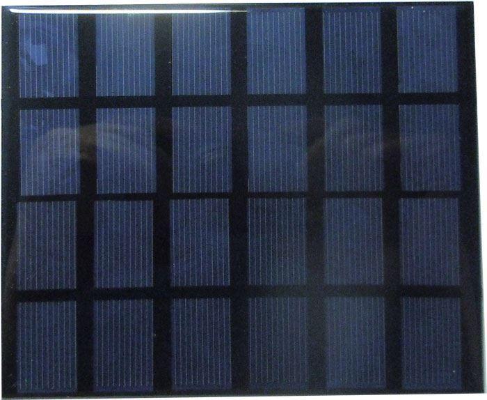 Fotovoltaický solární panel mini 6V/2W