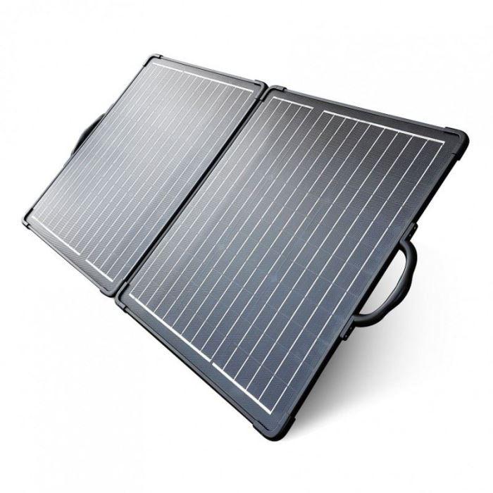 Přenosný fotovoltaický solární panel 12V/2x50W