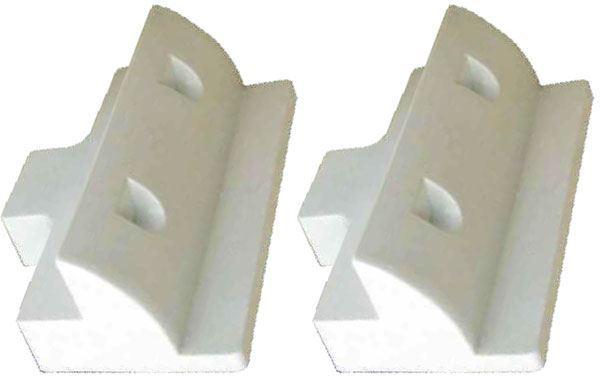 Držák pro fotovoltaický panel přímý- balení 2ks, bílý