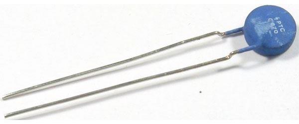 PTC C870 termistor 25-15ohm