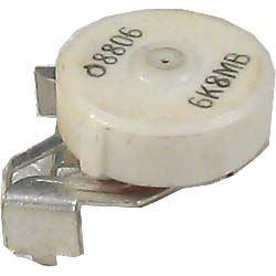 6k8/G, potenciometr otočný s vypínačem