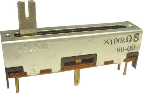 100k/S TELPOD SVP-30, potenciometr tahový s odbočkou