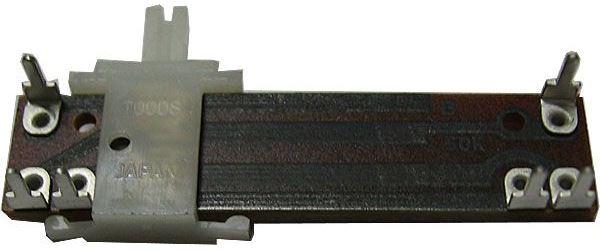 50k/N x2 TOCOS, potenciometr tahový tandemový