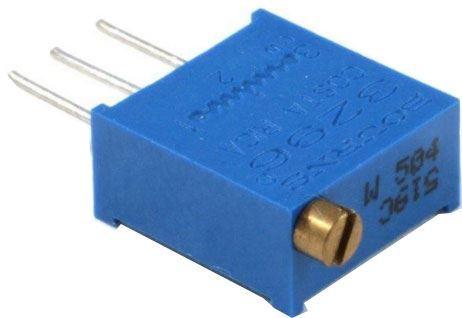 Trimr víceotáčkový 3296W-1-501 cermetový 500R