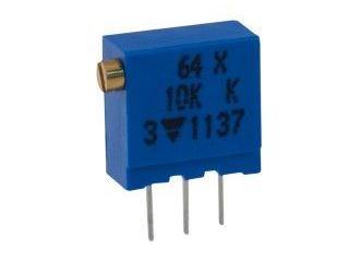64X 10k trimr víceotáčkový stojatý cermetový, lineární (T93XB) 100ppm