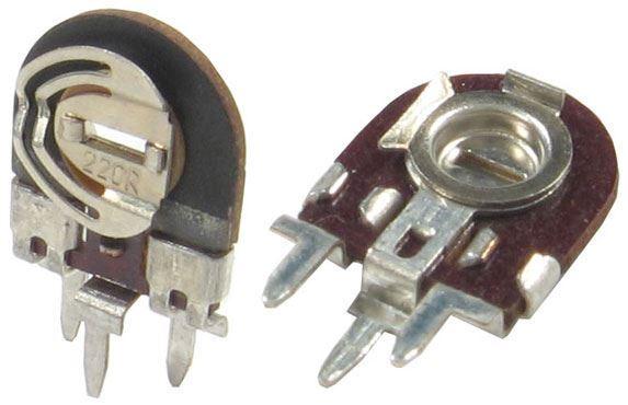 330R - TGL11886, trimr lakosazový stojatý RM5x2,5mm /~TP008/