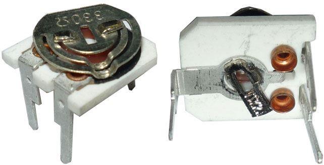 Trimr PNC10-CB -330R, cermetový, ležatý, RM=5/10mm