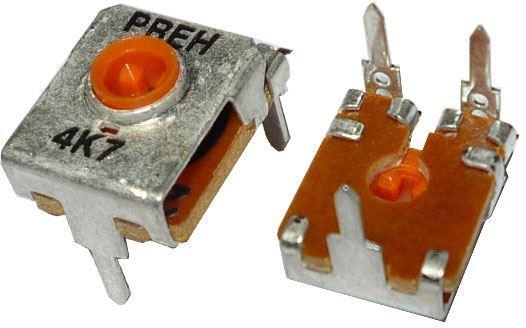 Trimr Preh 60100 ležatý - 4k7, RM=10/5mm