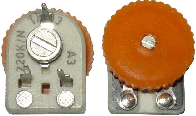 2M2 - TP113, trimr uhlíkový keramický ležatý RM5x10mm