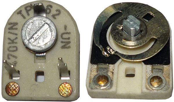 Trimr TP017,18 - 220K        (TP062)