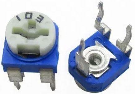 Trimr RM065 uhlíkový - 100R