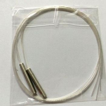 Teplotní čidlo PT100 s kabelem 1m