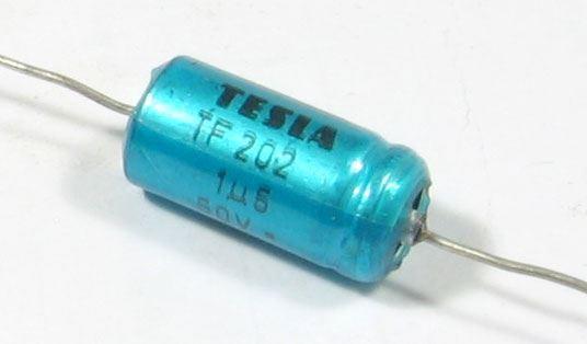 1u5/50VDC/35VAC TF202C, elektrolyt. kondenzátor bipolární