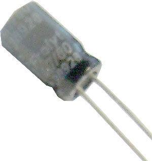 4u7/80V 85°C 6x11mm FROLYT, elektrolyt.kondenzátor radiální