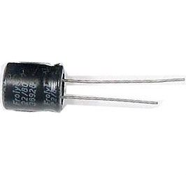 22u/80V FROLYT 10x13x5mm elektrolyt. kondenzátor radiální