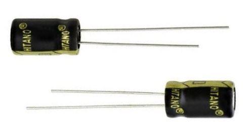 150u/10V 105°C 6,3x11mm HITANO, elektrolyt.kondenzátor radiální