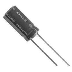 680u/25V 105° 10x17x5mm, elektrolyt.kondenzátor radiální