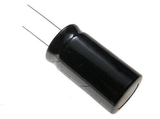 4700u/63V 105° 25x42x10mm, elektrolyt.kondenzátor radiální, SNAP-IN