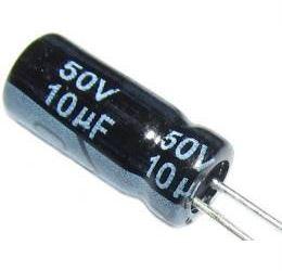 10u/50V 105° 5x11x2mm, elektrolyt.kondenzátor radiální