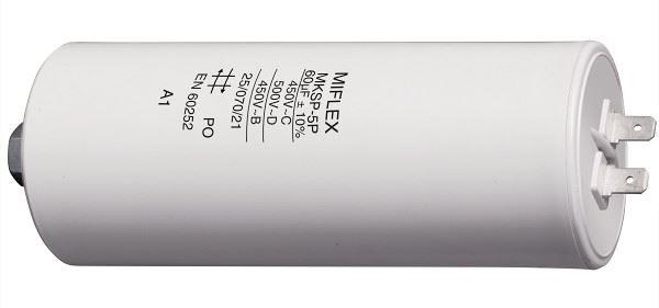 60uF/450V motorový kondenzátor 50x119mm