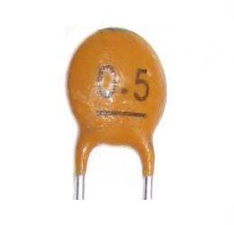 0,5p/50V SUNTAN, RM=2,54, keramický kondenzátor
