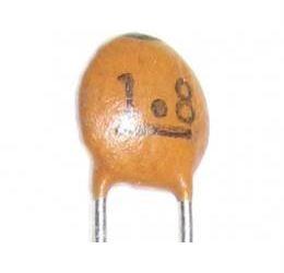 1p8/50V SUNTAN, RM=2,54, keramický kondenzátor