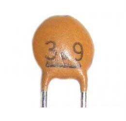 3p9/50V SUNTAN, RM=2,54, keramický kondenzátor