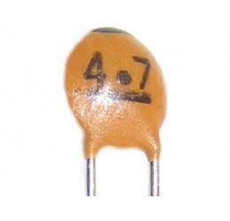 4p7/50V SUNTAN, RM=2,54, keramický kondenzátor