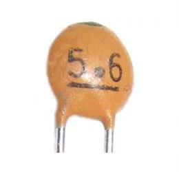 5p6/50V SUNTAN, RM=2,54, keramický kondenzátor