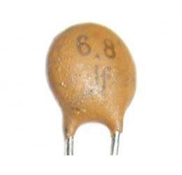 6p8/500V, keramický kondenzátor