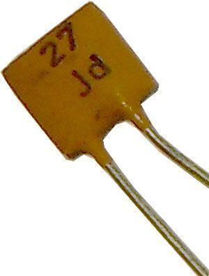 27pF/250V TK755, keramický kondenzátor