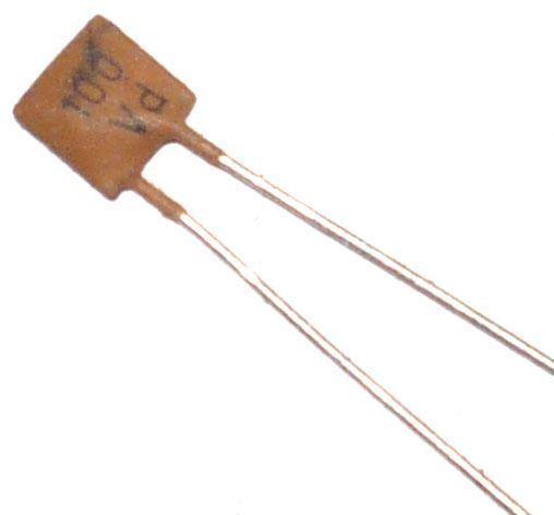 100pF/250V TK795, keramický kondenzátor