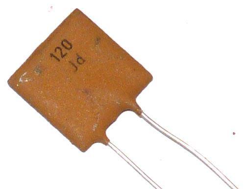 120pF/250V TK755, keramický kondenzátor