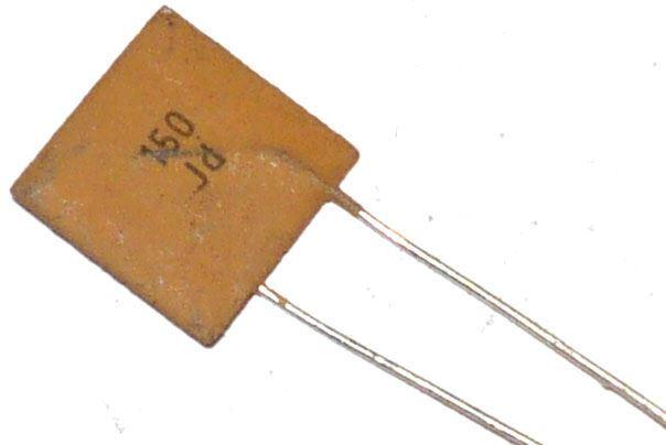 150pF/250V TK755, keramický kondenzátor