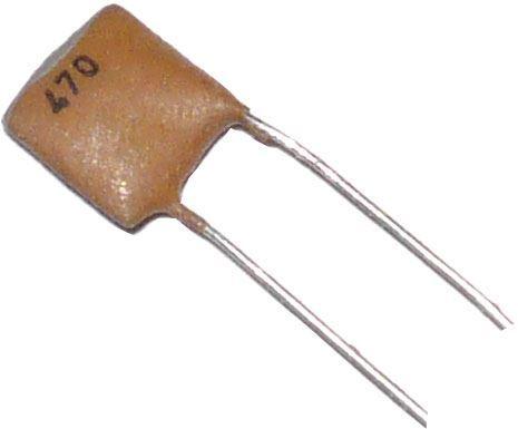 470pF/63V SK79002, keramický kondenzátor