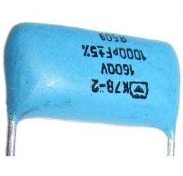 1n/1600V, keramický kondenzátor