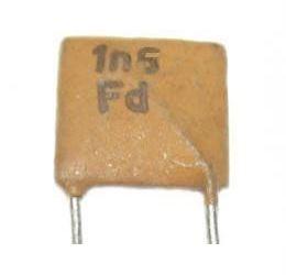 1n5/250V TK725, keramický kondenzátor