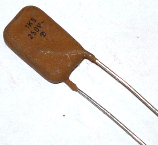 1n5/250V~, SK73660, keramický kondenzátor