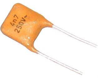 4n7/250V~ TKxxx, keramický kondenzátor