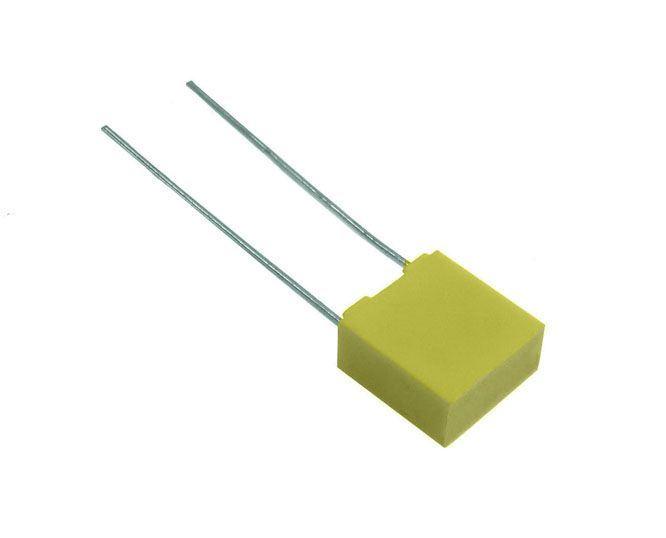 4n7/100V MKT, foliový kondenzátor radiální, RM5mm, 5%