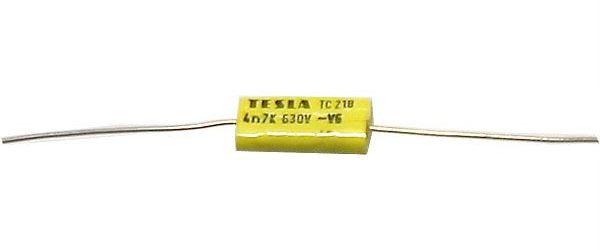 4n7/630V TC218, svitkový kondenzátor