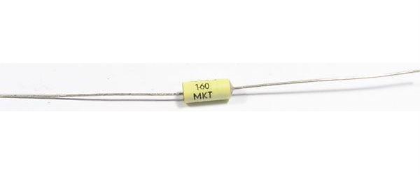 6n8/160V MKT TGL43199, svitkový kondenzátor axiální